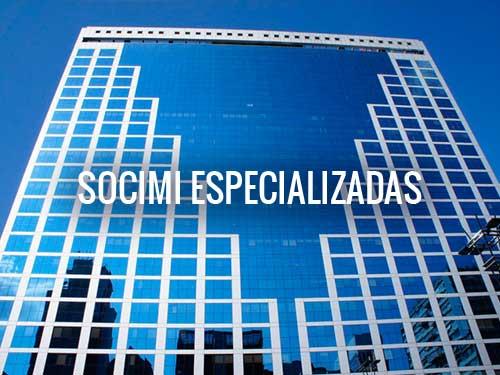 SOCIMI ESPECIALIZADAS